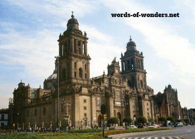 words wonders catedral metropolitana