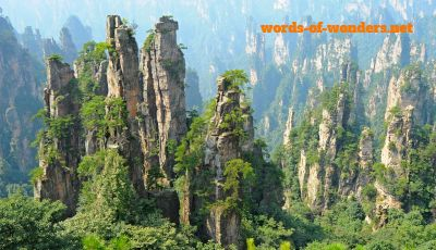 words wonders parque national zhangjiajie