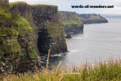 words wonders cliffs of moher