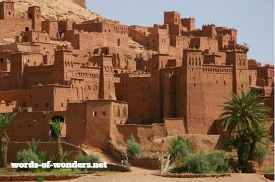 words wonders ait benhaddou