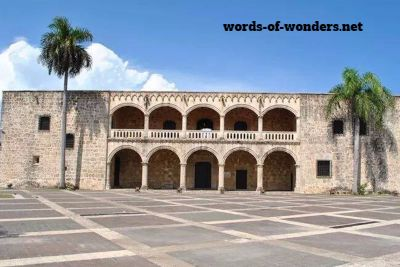 words wonders alcazar de colon