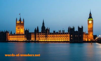 words wonders big ben