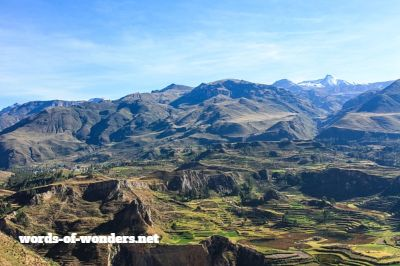 words wonders colca canyon