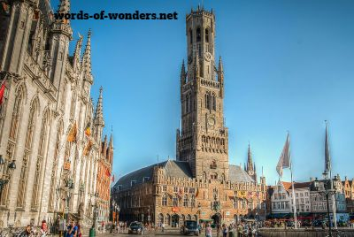 beffroi de bruges words wonders