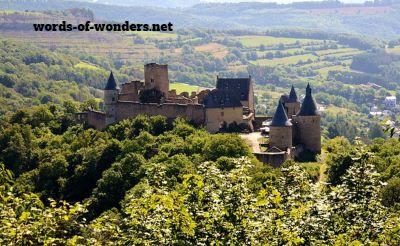 words wonders chateau bourscheid
