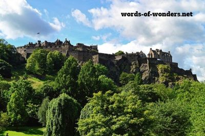 words wonders chateau d'edimbourg