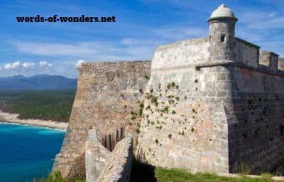 words wonders chateau san pedro de la roca
