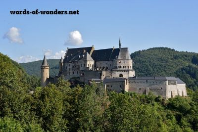 chateau vianden words wonders