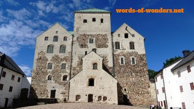 words wonders turku castle