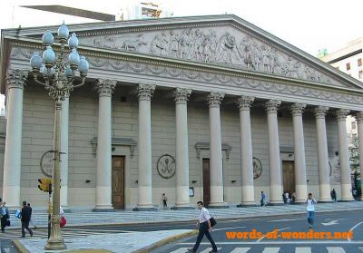 words wonders catedral metropolitaine de buenos aires