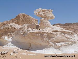 white desert words of wonders