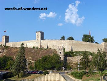 words wonders forteresse de skopje