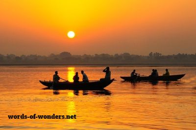 words wonders ganges