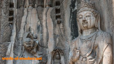 words wonders longmen grottoes