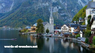 words wonders hallstatt