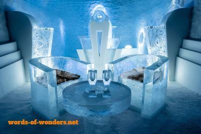 word wonders icehotel