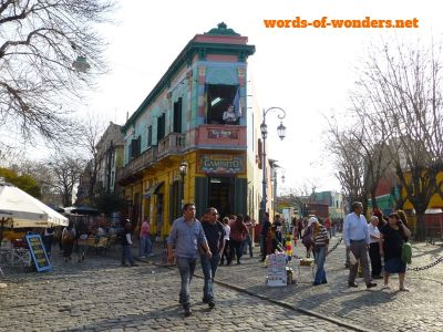 words wonders la boca