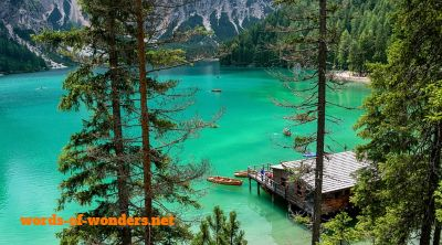words wonders lac braies