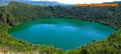 words wonders lago de guatavita