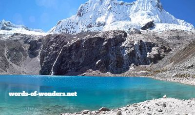 words wonders laguna 69 huaraz