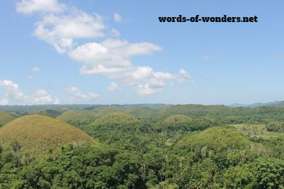 words wonders chocolate hills