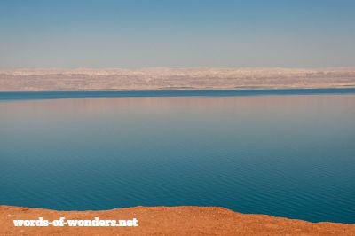 words wonders dead sea