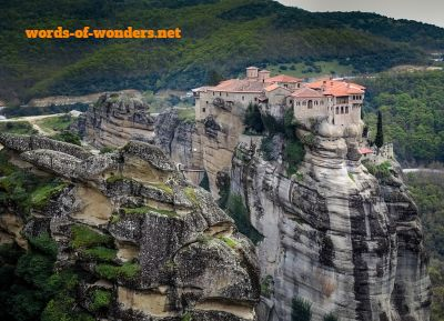 words wonders meteora