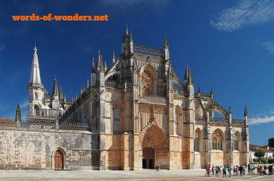 words wonders monastere de batalha
