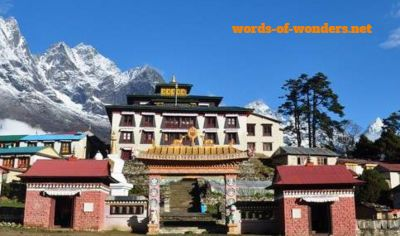 words wonders monastere de tengboche