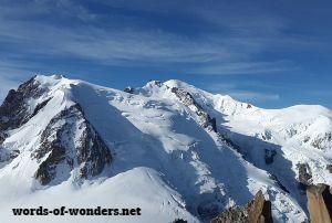 words wonders mont blanc