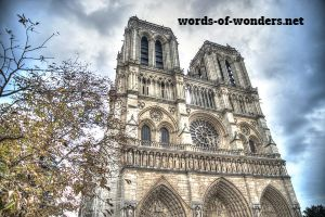 words wonders notre dame de paris