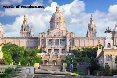 words wonders palau nacional