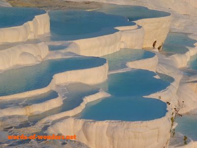 words wonders pamukkale