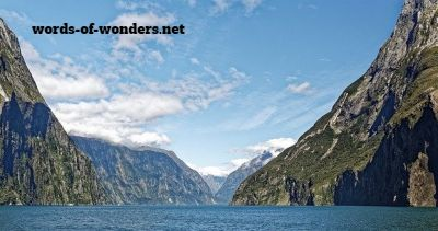 words wonders parque national fiordland