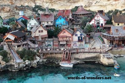 words wonders popeye village