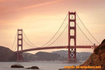 words wonders ponte golden gate