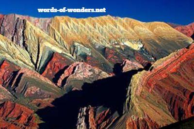 words of wonders serrania del hornocal