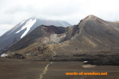 words wonders tongariro