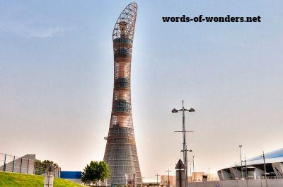 words wonders aspire tower