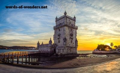 words wonders torre belem