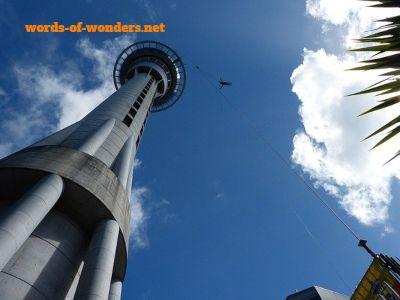 words wonders sky tower